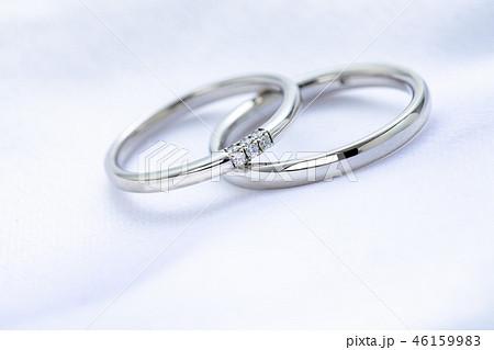 ダイヤモンドが入った結婚指輪 46159983