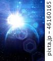 グローバル 光 サイバーのイラスト 46160165