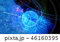 ビッグデータ クラウド 球体のイラスト 46160395