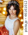 クリスマス ドレス 女性の写真 46161012