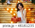 クリスマス ドレス 女性の写真 46161235