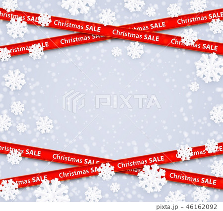 Vector christmas sale restriction red stripes zone 46162092