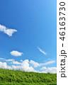 青空 夏 草原の写真 46163730