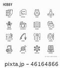 セット 組み合わせ イコンのイラスト 46164866