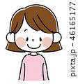 ベクター 女の子 幼児のイラスト 46165177