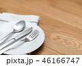 スプーン ナイフ 皿の写真 46166747
