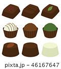 チョコレート チョコ トリュフのイラスト 46167647