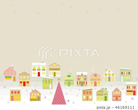 街並み クリスマス 星 46169111