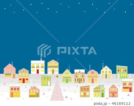街並み クリスマス 星 46169112