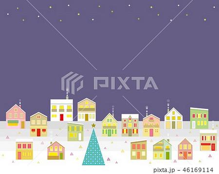 街並み クリスマス 星 46169114