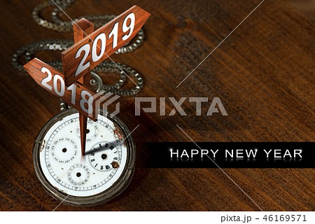 Happy New Year 2019 - Watch with Signs 46169571