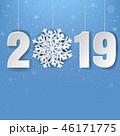 2019 クリスマス デコレーションのイラスト 46171775