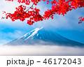 富士山 紅葉 秋の写真 46172043