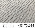 風紋 砂浜 砂の写真 46172844