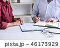 医者 患者 ディスカッションの写真 46173929