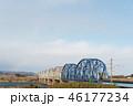 橋 鉄橋 橋梁の写真 46177234