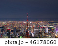 東京 東京タワー 夜景の写真 46178060