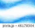 水 波 青のイラスト 46178304