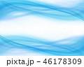 水 波 青のイラスト 46178309