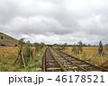 景色 鉄道 線路の写真 46178521