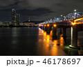 Dongjak bridge and Namsan tower 46178697