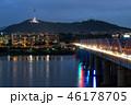 Dongjak bridge and Namsan tower 46178705
