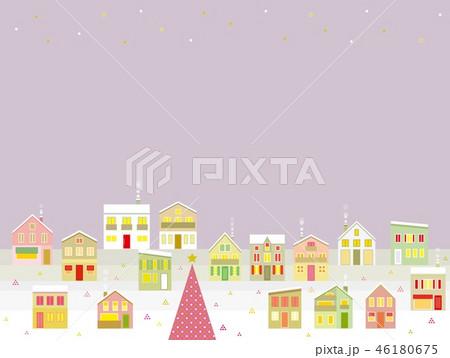 街並み クリスマス 星 46180675