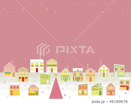 街並み クリスマス 星 46180676
