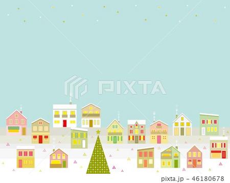 街並み クリスマス 星 46180678