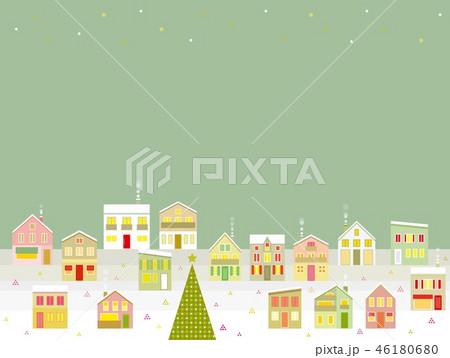 街並み クリスマス 星 46180680