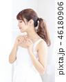 女性 ヘアスタイル ワンピースの写真 46180906