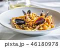 パスタ パスタ料理 シーフードの写真 46180978