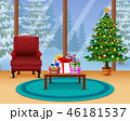クリスマス 空間 部屋のイラスト 46181537