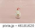白いイノシシの土鈴 46181620