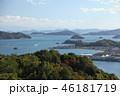 瀬戸内海 呉市 海の写真 46181719