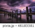 クラウド 雲 ワカティプ湖の写真 46183381