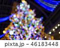 クリスマスツリーのイメージ(ボケ表現) 46183448