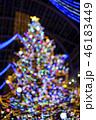 クリスマスツリーのイメージ(ボケ表現) 46183449