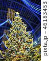 クリスマスツリーのイメージ(ボケ表現) 46183453
