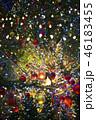 クリスマスツリーのオーナメント 46183455