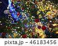 クリスマスツリーのオーナメント 46183456