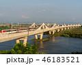 風景 ブリッジ 橋の写真 46183521