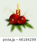 クリスマス デコレーション 装飾のイラスト 46184299