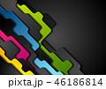 ジオメトリック 幾何学的 背景のイラスト 46186814