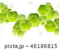 六角形 テクノロジー ジオメトリックのイラスト 46186815