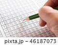 マークシート 解答用紙 試験の写真 46187073
