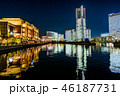 夜 都会 都市の写真 46187731