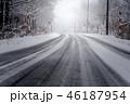 雪道 46187954