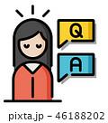 知識 よくある質問 救済のイラスト 46188202