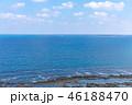 海 青空 海岸の写真 46188470